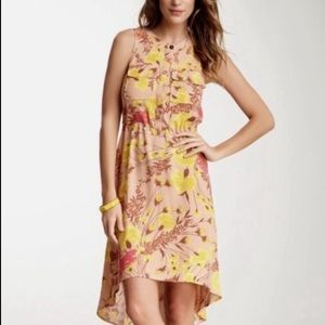 Tracy Reese sleeveless high-low floral dress